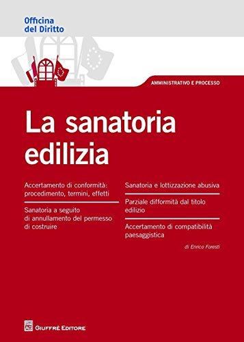 La sanatoria edilizia