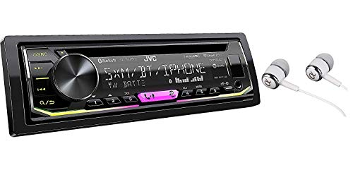 JVC KD-RD98BTS Single DIN Bluetooth in-Dash Car Stereo
