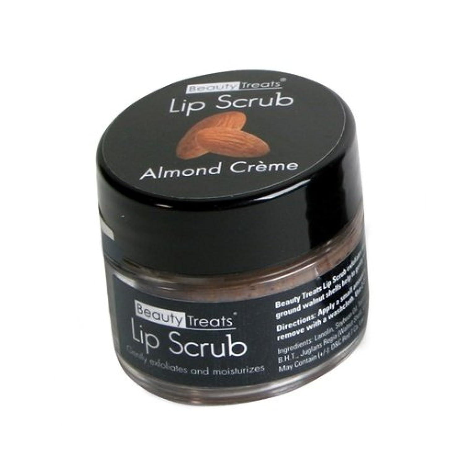 吸収する説教シャー(3 Pack) BEAUTY TREATS Lip Scrub - Almond Creme (並行輸入品)