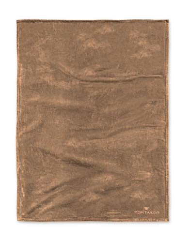 TOM TAILOR 0237798 Wohndecke Microfaser  1x 180x220 cm, braun