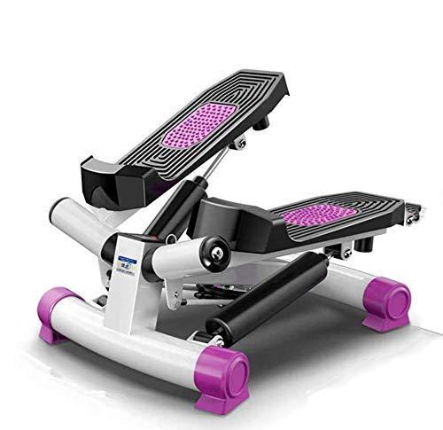 Funda de almohada Mini Stepping Ejercicio Máquina de ejercicios, con exhibición LED, equipos de deportes y fitness, deportes interiores, con cable de alimentación, adecuado para la aptitud propia zhua