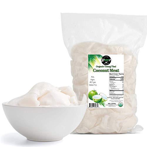 Organic Nam Hom Young Coconut Meat (Frozen) 11lb