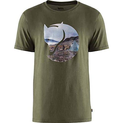 Fjällräven Gädgaureh '78 T-Shirt M, Maglietta Uomo, Dusk, XL