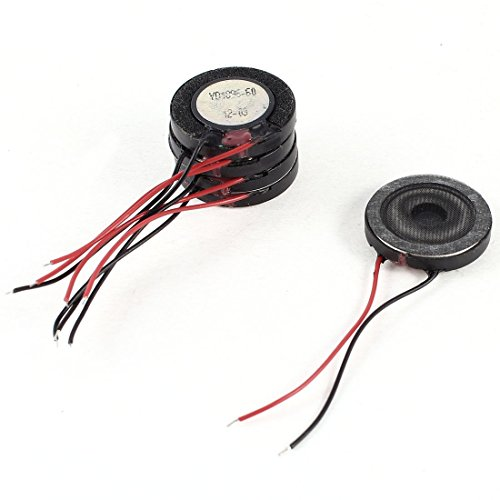 5 piezas de 18 mm interno Altavoces Imán 2500Hz 8Ohm 1W para PC portátil