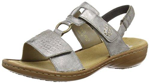 Rieker 60887 open toe dames sandalen