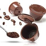 Koksi - Cápsula de café reutilizable para Nescafe Dolce Gusto. Cápsulas recargables compatibles...
