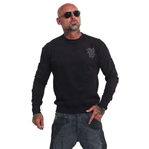 Yakuza Herren Basic Line 4W Pullover Sweater