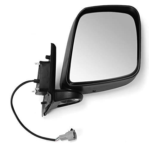 QREAEDZ Black Car Puerta Lateral eléctrica ala Vista Trasera Espejo Conjunto de Controlador Lado/Ajuste para Nissan NV200 2010-2016 Montaje de Espejo retrovisor (Color : Right)