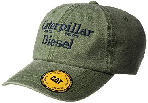 Caterpillar Herren Diesel Baseball Cap, Army Moss, Einheitsgröße
