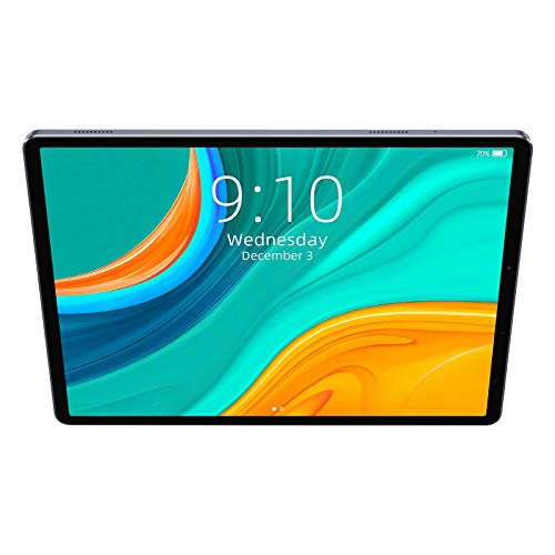 CHUWI HiPad Plus 11 inch(2176x1600) Touchscreen 4GM RAM 128GB ROM 5MP+13MP Camera 8 Cores Processor(Main Frequency 2.0 GHz)2.4+5G Networks Only Tablet Android 10 Support OTG+Sim Card