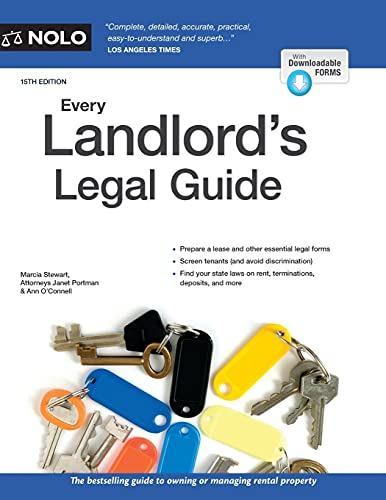 Compare Textbook Prices for Every Landlord's Legal Guide Fifteenth Edition ISBN 9781413327625 by Stewart, Marcia,Portman Attorney, Janet,O'Connell Attorney, Ann