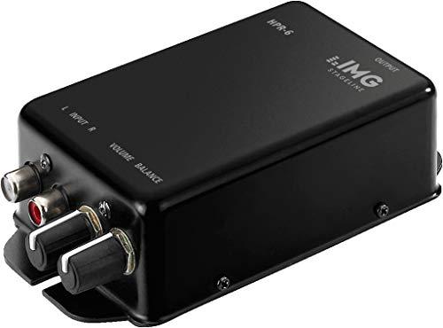 IMG Stageline HPR-6 krachtige stereo hoofdtelefoonversterker, zwart