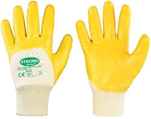 12 Paar Stronghand - Arbeitshandschuh Yellowstar Gr. 9