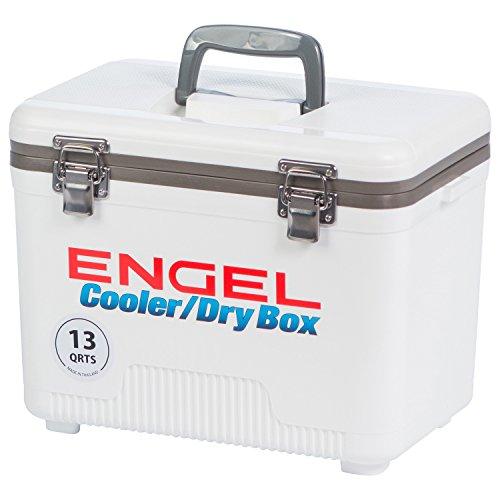 Engel refroidisseurs 13 Quart Cooler/Dry Box – Blanc