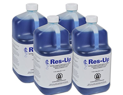 Res-up water softener cleaner - Case of 4 Gallons