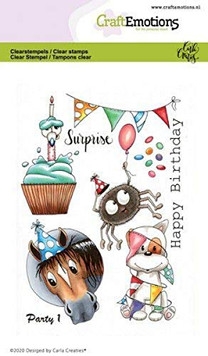 Clear Stamps - A6 - Party 1 Carla Creaties