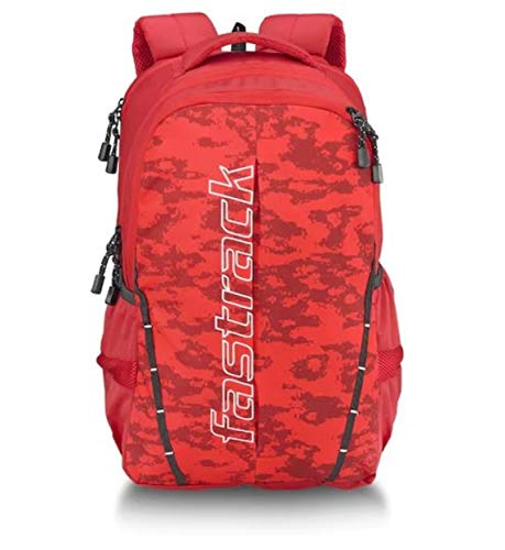 Fastrack 24 Ltrs Red Casual Backpack (A0738NRD01)