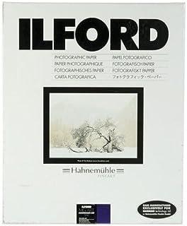 Ilford Ilford Multigrade Art 300 100% Cotton Rag 20.3 X 25.4 cm - 50 Sheets Sharp Multigrade Art 300 100% Cotton Rag 20.3 X 25.4 cm - 50 Sheets, Plain (1170410)