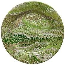 Juliska Firenze Green Marbleized Salad Plate
