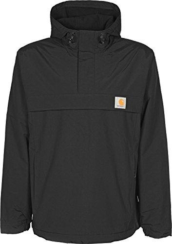 Carhartt Nimbus Pullover uomo, cappotto corto, nero, Large EU