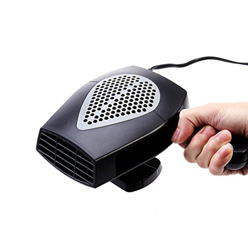VOSAREA Portable 12V Car Heater Heating Fan Demister with Cigarette Lighter Plug