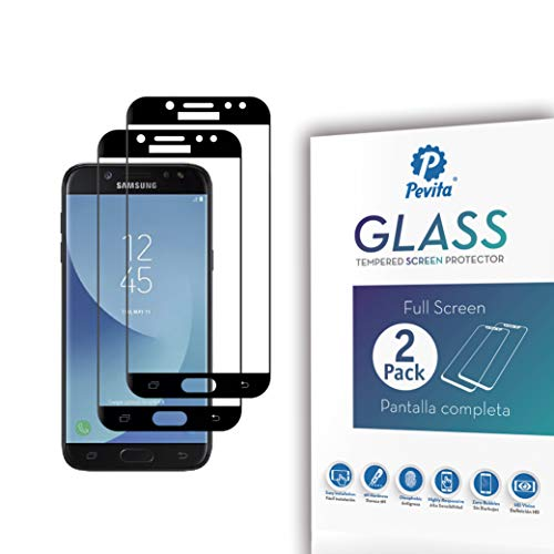 Pevita Protector de Pantalla para Samsung Galaxy J5 (2017) [2 Packs] Cristal...