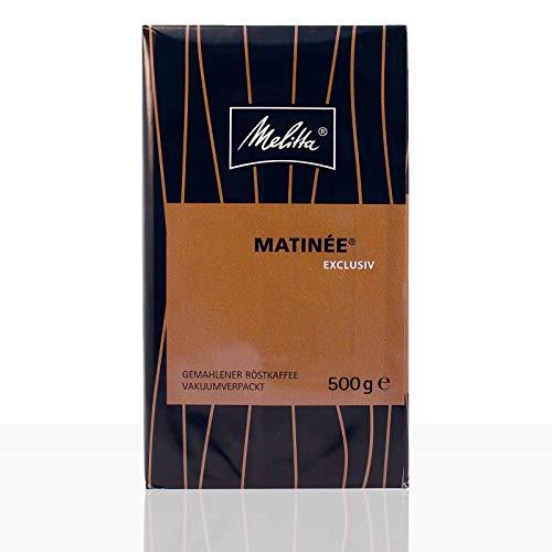 Melitta Matinee Exclusiv - 500g Kaffee gemahlen, Filterkaffee