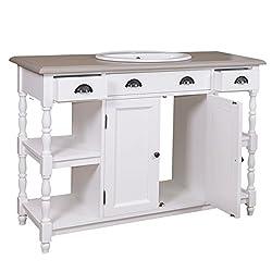 badm bel im landhausstil wei italienisch rustikal. Black Bedroom Furniture Sets. Home Design Ideas