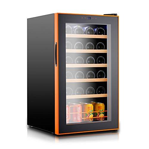 Xiao huang li wijnkoeler wijnkoeler koelkast / 24 flessen champagnekoeler/tempereerapparaat / 5 lagen beech Shelf/afmetingen 43X51X72cm / vermogen 60W