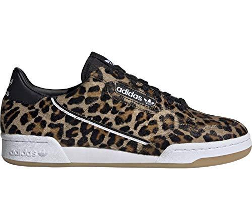 Adidas Herren Continental 80 Leopard Sneakers Mehrfarbig, 40