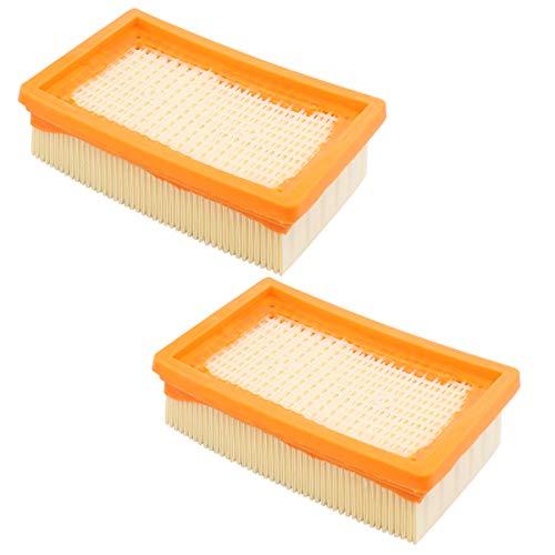 2 filtros de vacío compatibles con Kärcher MV4 MV5 MV6 WD4 WD5 WD6