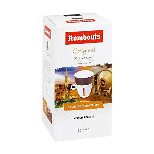 Rombouts One Cup Coffee Filters 10's (8 Boxes)