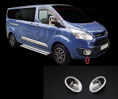 Para tránsito personalizado Tourneo 2012-2018 ABS cromado luz antiniebla llanta cubierta 2 piezas