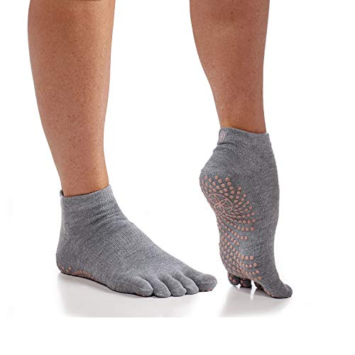 Gaiam Calcetines de yoga   Grippy antideslizantes y adherentes