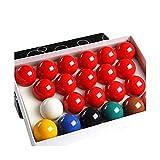 Billar de Resina 3pcs / Lot 5.25cm Sola Bola De La Resina Blanca Billar Venta 2 1/16 Pulgadas Bolas del Billar Calientes (Color : White Ball)