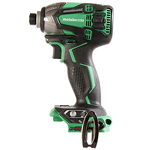 Product Image of the Metabo HPT 18V Cordless Impact Driver, Triple Hammer Technology, Powerful 1, 832 In/Lbs Torque, Variable Speed Trigger, IP56 Compliant, LED Light, Tool Only (WH18DBDL2Q4)
