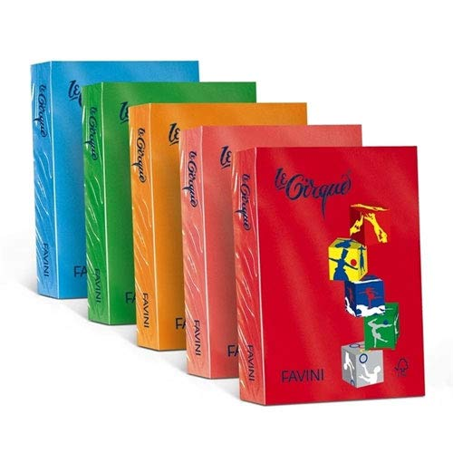 FAVINI papier lecirque A3 80 g 500 fg ivoor pastel 110