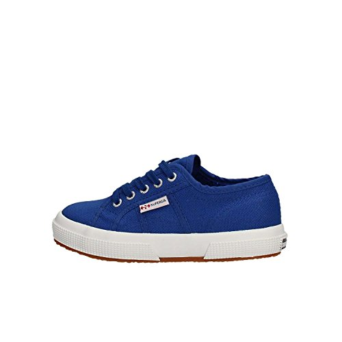 Superga 2750-jcot Classic, Zapatillas de Gimnasia Infatil, Azul (G88 Intense Blue), 31