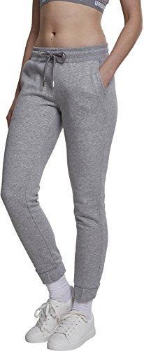 Urban Classics Damen Sweat Sporthose, Grau (Grey 00111), W28 (Herstellergröße: M)