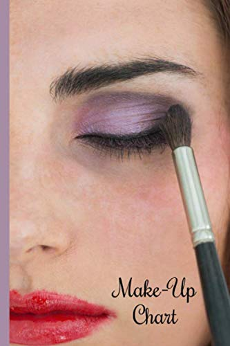 Make-Up Chart: Keep your most beautiful styles here. Make up and feel good. Coffee and mascara