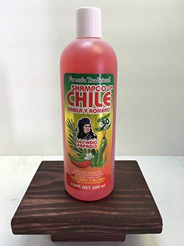 Chile Shampoo