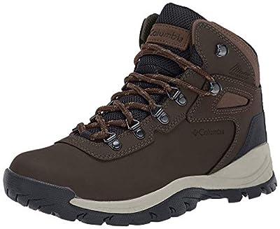 Columbia Women's Newton Ridge Plus Waterproof Amped Hiking Boot, Cordovan/Crown Jewel, 11 Regular US