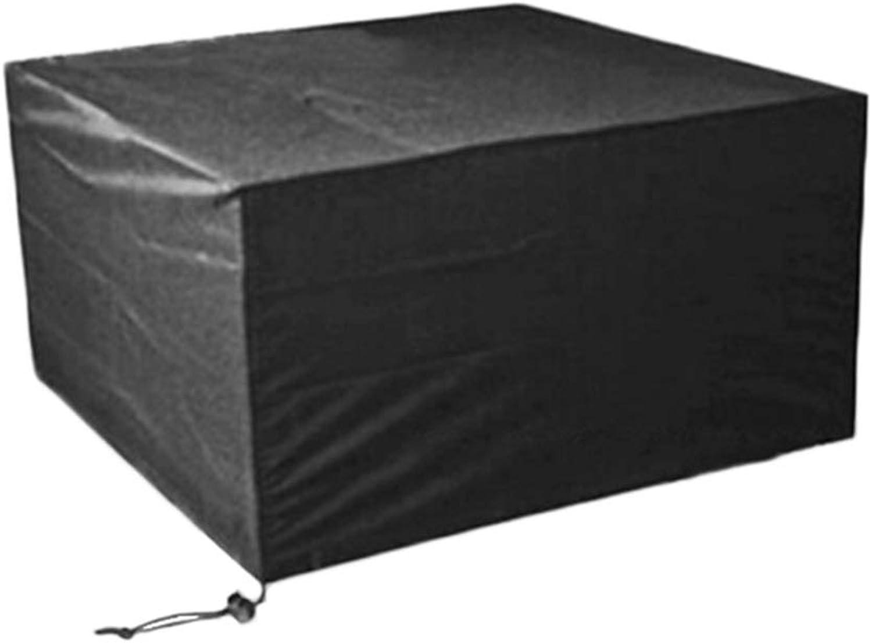 salida HYDT Conjuntos de Muebles Cubiertas del Juego de sillas sillas sillas de Mesa Negras - Cubierta de Muebles Cuadrados para Patio Exterior, Cubierta de Mesa de Comedor de Tela Impermeable 210D (Talla   250×200×80cm)  40% de descuento
