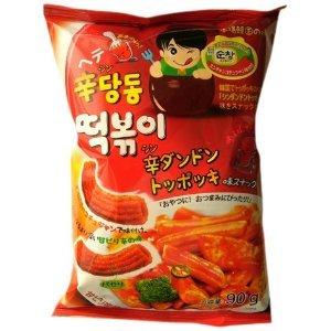 韓国でトッポッキの元祖 辛ダンドントッポッキ味スナック 75g×30袋