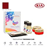 DrawndPaint for/KIA Rio/Signal Red Met - Beg/Touch-UP Sistema DE Pintura Coincidencia EXACTA/Preferred Care