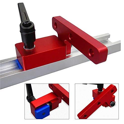 Blessvt 30 Rutschen T-Schienen Holzbearbeitung Gehrung Spurstopper Rutschenstopper Für Holzbearbeitung