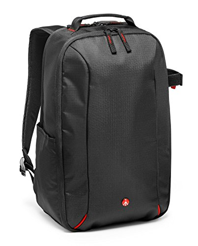 Manfrotto Essential Camera and laptop backpack, Water Repellent Bag with Removable Internal Camera Case - Black