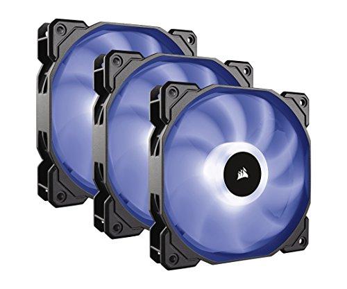 Corsair SP120 RGB PC-Gehäuselüfter (120mm, Leise, Hoher Luftdurchsatz, RGB LED, Triple Pack mit Lighting Controller und Hub)