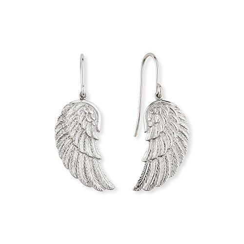 Engelsrufer Flügel Ohrhänger für Damen 925er-Sterlingsilber Größe 20 mm