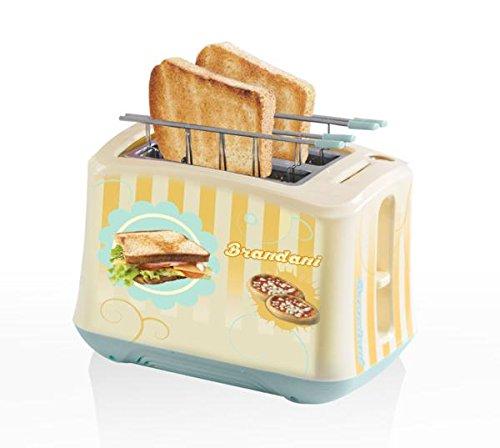 Brandani 55739 Brottopf aus Kunststoff und Edelstahl